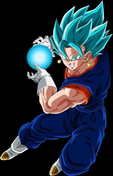 Tags: Anime, DRAGON BALL SUPER, DRAGON BALL, DRAGON BALL Z, Vegito, Son Goku (DRAGON BALL), Vegeta, Arbiter720, Potara, Character Fusion, Vector, deviantART, Super Saiyan Blue