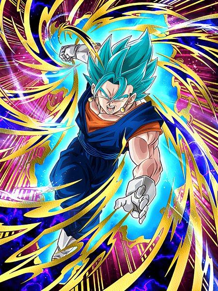 Tags: Anime, DRAGON BALL, DRAGON BALL SUPER, DRAGON BALL Z, Vegito, Son Goku (DRAGON BALL), Vegeta, Aura, Potara, Character Fusion, Super Saiyan God, Super Saiyan, Super Saiyan Blue