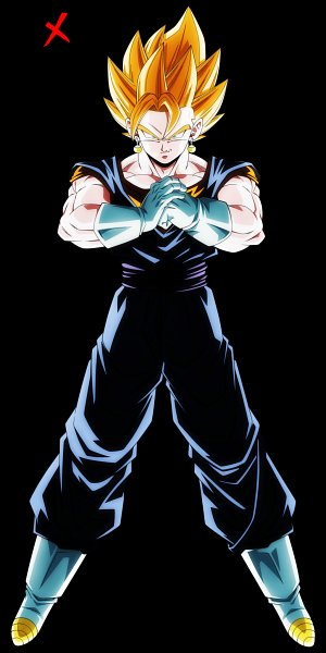 Tags: Anime, Nekoar, DRAGON BALL, DRAGON BALL Z, Vegito, Son Goku (DRAGON BALL), Vegeta, Potara, Character Fusion, deviantART, Super Saiyan