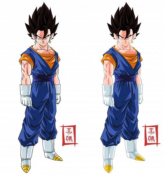 Tags: Anime, Snakou, DRAGON BALL, DRAGON BALL Z, Vegeta, Vegito, Son Goku (DRAGON BALL), Character Fusion, Baggy Pants, Potara, Character Sheet, deviantART, Vector