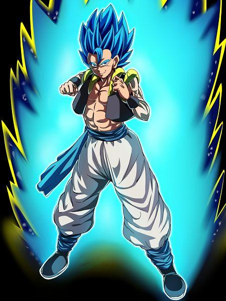 Tags: Anime, Pixiv Id 17072685, DRAGON BALL SUPER, DRAGON BALL, DRAGON BALL Z, Son Goku (DRAGON BALL), Vegeta, Vegito, Character Fusion, Fanart, Pixiv, Fanart From Pixiv, Super Saiyan Blue