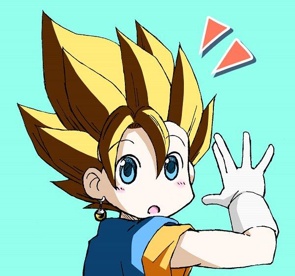 Tags: Anime, Pixiv Id 10536222, DRAGON BALL, DRAGON BALL SUPER, Vegeta, Vegito, Son Goku (DRAGON BALL), Potara, Character Fusion, Pixiv, Super Saiyan