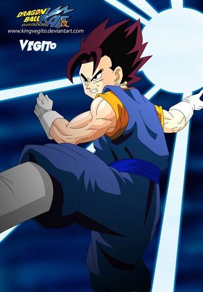 Tags: Anime, DRAGON BALL, DRAGON BALL Z, Vegito, Son Goku (DRAGON BALL), Vegeta, Potara, Character Fusion
