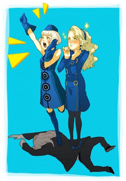 Tags: Anime, Shin Megami Tensei: PERSONA 4, Shin Megami Tensei: PERSONA 3, Elizabeth (PERSONA 3), Igor (Persona), Margaret (PERSONA 4), Velvet Room