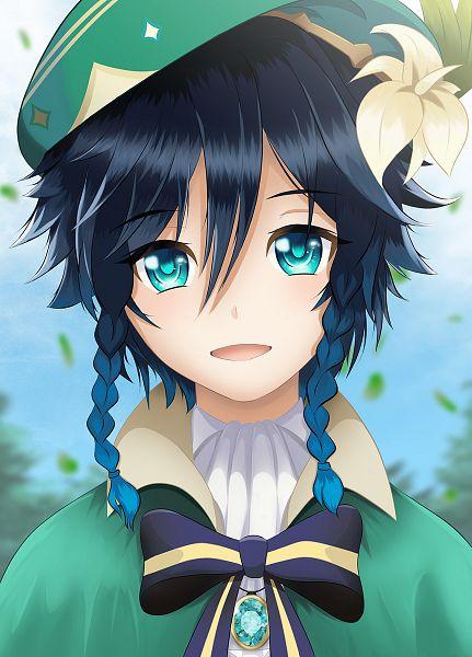 Tags: Anime, Pixiv Id 41343837, Genshin Impact, Venti