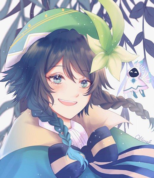 Tags: Anime, Pixiv Id 66714328, Genshin Impact, Barbatos (Genshin Impact), Venti, Fanart From Pixiv, Pixiv, Fanart