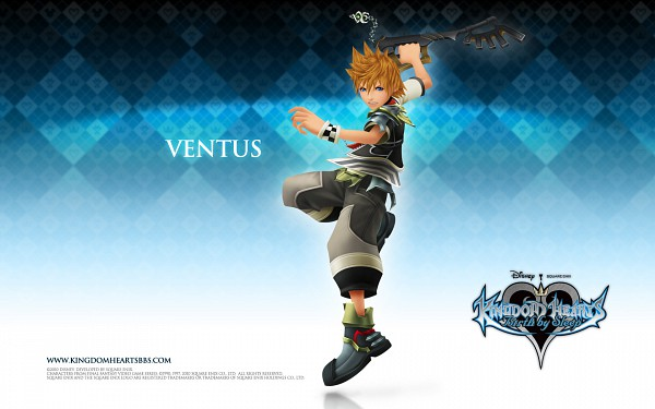 Tags: Anime, Nomura Tetsuya, Kingdom Hearts: Birth by Sleep, Ventus, Wallpaper, Official Art, Official Wallpaper