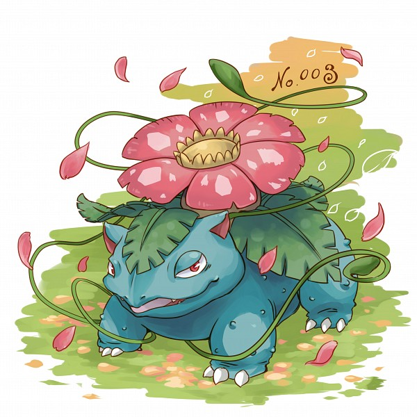Tags: Anime, Pixiv Id 17219740, Pokémon, Venusaur, Fanart From Pixiv, Pixiv, Fanart