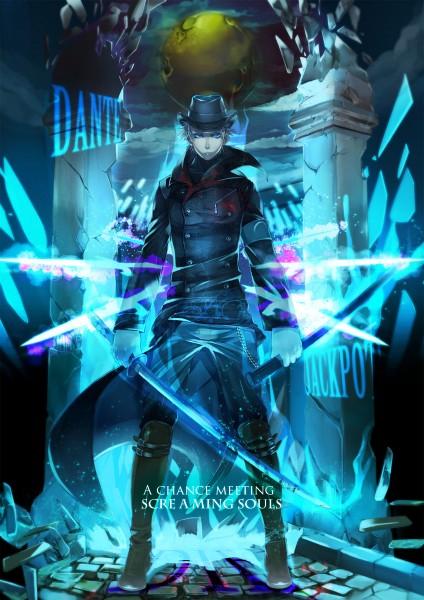 Tags: Anime, Pixiv Id 1423276, Ninja Theory, DmC: Devil May Cry, Devil May Cry, Vergil (Devil May Cry), Mobile Wallpaper