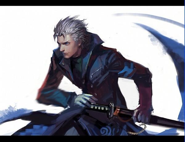 Tags: Anime, Pixiv Id 1417939, Ninja Theory, DmC: Devil May Cry, Devil May Cry, Vergil (Ninja Theory), Fanart From Pixiv, Fanart, Pixiv
