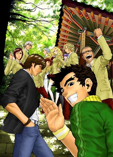 Tags: Anime, Kim Dong-hoon, Veritas, Vera Linus, Makihara Madoka, Yun Jun Sik, Lightning Tiger
