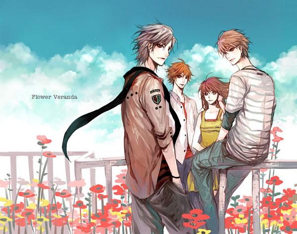 Tags: Anime, Vic-mon, Balcony, Original