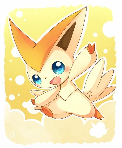Tags: Anime, Pixiv Id 763010, Pokémon, Victini, Legendary Pokémon