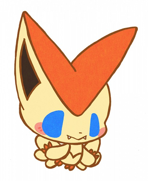 Tags: Anime, Pixiv Id 650746, Pokémon, Victini, Fanart From Pixiv, Fanart, Legendary Pokémon, Pixiv