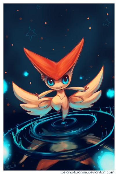 Tags: Anime, Delano-laramie, Pokémon, Victini, Legendary Pokémon, deviantART, Fanart From DeviantART, Fanart