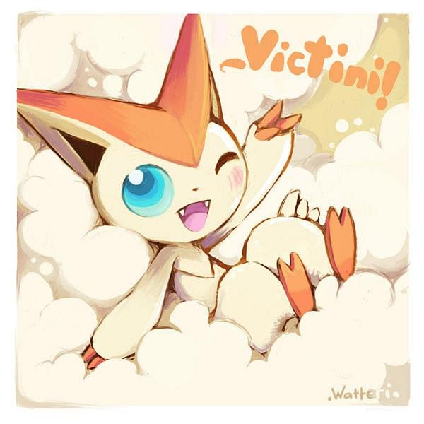 Tags: Anime, Pokémon, Victini, Legendary Pokémon