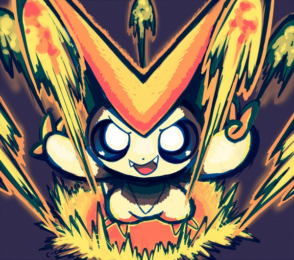 Tags: Anime, Crayon-chewer, Pokémon, Victini, Legendary Pokémon