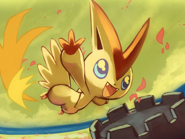 Tags: Anime, Pokémon, Victini, Legendary Pokémon