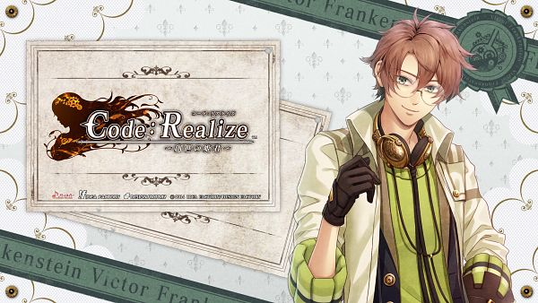 Tags: Anime, miko (Artist), IDEA FACTORY, Code: Realize ~Sousei no Himegimi~, Victor Frankenstein (Code:Realise), Wallpaper, Official Art, HD Wallpaper, Official Wallpaper