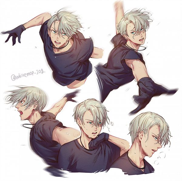 Tags: Anime, Pixiv Id 20740954, Yuri!!! On Ice, Victor Nikiforov, Fanart From Pixiv, Pixiv, Fanart