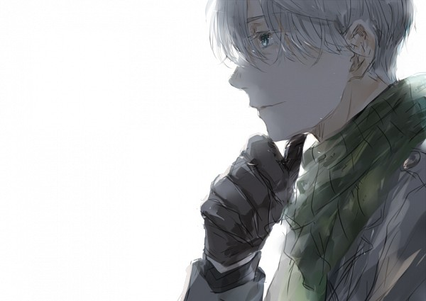 Tags: Anime, Pixiv Id 2553939, Yuri!!! On Ice, Victor Nikiforov, Gray Gloves, Gray Handwear, Pixiv, Fanart, Fanart From Pixiv