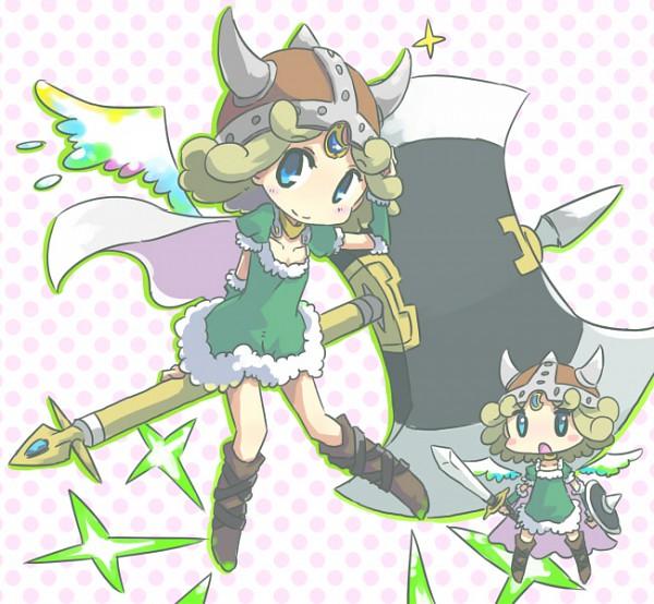 Viking Girl (Madoka Magica) - Mahou Shoujo Madoka☆Magica