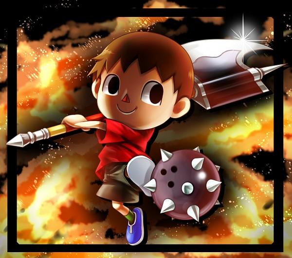 Villager - Super Smash Bros.