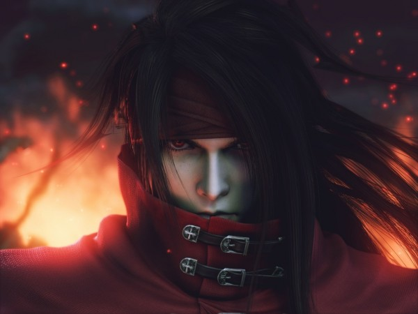 Tags: Anime, Final Fantasy VII, Vincent Valentine, 3D, Wallpaper, Game Cover