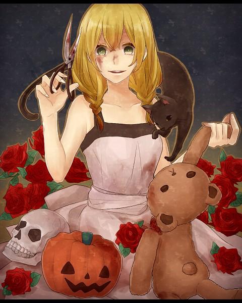 Tags: Anime, Pixiv Id 1814211, Majo no Ie, The Black Cat (Majo no Ie), Viola (Majo no Ie), Fanart From Pixiv, Pixiv, Fanart