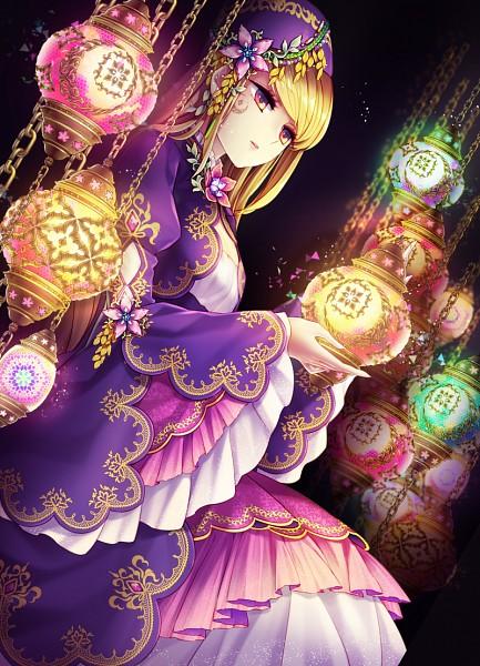 Tags: Anime, Yeruen, Violet (Sound Horizon), Mobile Wallpaper, Pixiv, Fanart From Pixiv, Fanart, Roman (Sound Horizon), Sound Horizon