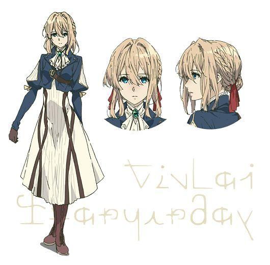 Violet Evergarden (Character) - Violet Evergarden