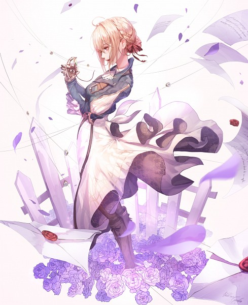 Tags: Anime, Pixiv Id 23945843, Violet Evergarden, Violet Evergarden (Character), Fanart From Pixiv, Pixiv, Fanart