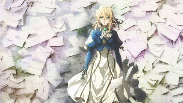 Tags: Anime, Takase Akiko, Kyoto Animation, Violet Evergarden, Violet Evergarden (Character), Prosthesis, Official Art
