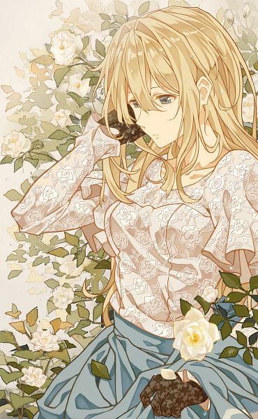 Tags: Anime, Cheese Kang, Violet Evergarden, Violet Evergarden (Character), Fanart, Revision, Fanart From Pixiv, Mobile Wallpaper, Pixiv