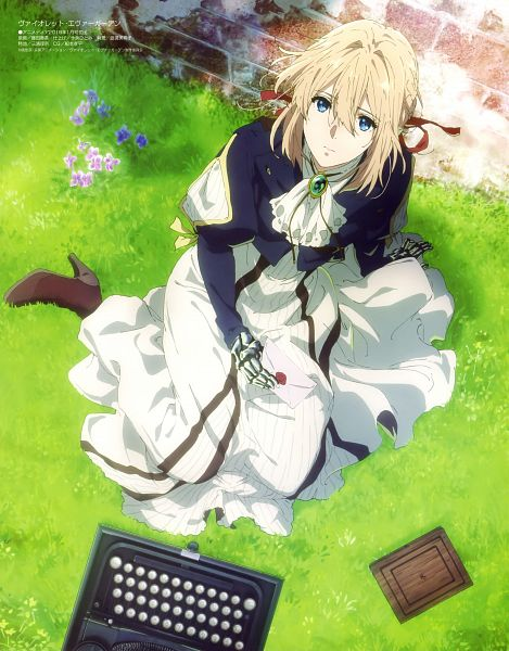 Tags: Anime, Kyoto Animation, Violet Evergarden, Violet Evergarden (Character), Official Art, Scan