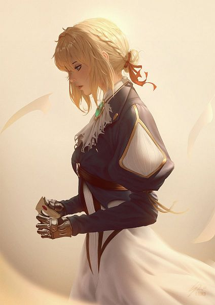 Tags: Anime, raikoart, Violet Evergarden, Violet Evergarden (Character), Prosthesis, deviantART, Fanart, Fanart From DeviantART, ArtStation