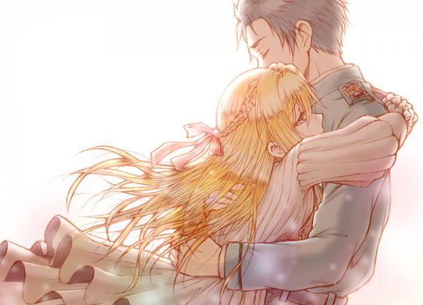 Tags: Anime, Colorz, Violet Evergarden, Gilbert Bougainvillea, Violet Evergarden (Character)