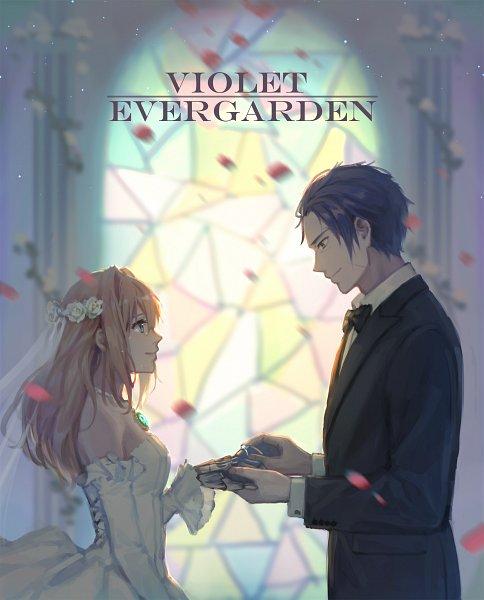 Tags: Anime, Pixiv Id 9387811, Violet Evergarden, Gilbert Bougainvillea, Violet Evergarden (Character)