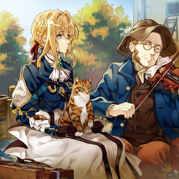 Tags: Anime, Cheese Kang, Violet Evergarden, Violet Evergarden (Character), Character Request, Pixiv, Fanart, Fanart From Pixiv