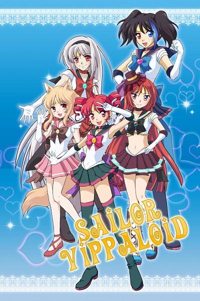 Tags: Anime, Pixiv Id 131603, Bishoujo Senshi Sailor Moon, UTAU, Sukone Tei, Kasane Teto, Namine Ritsu, Yokune Ruko, Ooka Miko, Bishoujo Senshi Sailor Moon (Cosplay), Pixiv, Mobile Wallpaper, Fanart