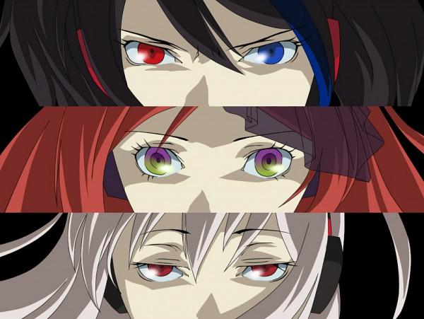 Tags: Anime, Yamagami Shuu, UTAU, Sukone Tei, Namine Ritsu, Yokune Ruko, Persona Eyes, Pixiv, Fanart, Vipperloid