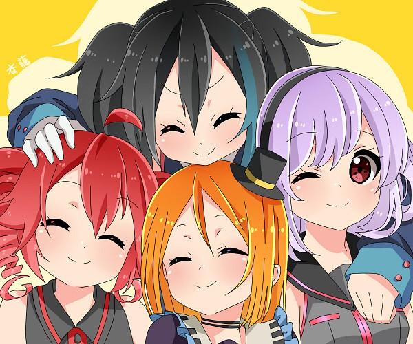Tags: Anime, Saito Katuo, UTAU, VOCALOID, Sukone Tei, Kasane Teto, Namine Ritsu, Yokune Ruko, Pixiv, Fanart, K-ON! Character Design, Vipperloid