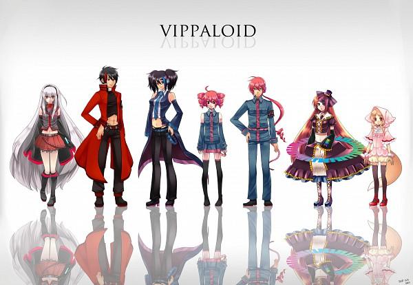 Tags: Anime, Nez-doll, UTAU, Namine Ritsu, Kasane Teto, Kasane Ted, Ooka Miko, Yokune Ruko, Sukone Tei, Rook, Fanart, Pixiv, Vipperloid