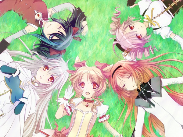Tags: Anime, Levi77, UTAU, Namine Ritsu, Yokune Ruko, Ooka Miko, Sukone Tei, Kasane Teto, Mahou Shoujo Madoka☆Magica (Parody), Miki Sayaka (Cosplay), Kaname Madoka (Cosplay), Akemi Homura (Cosplay), Sakura Kyouko (Cosplay)