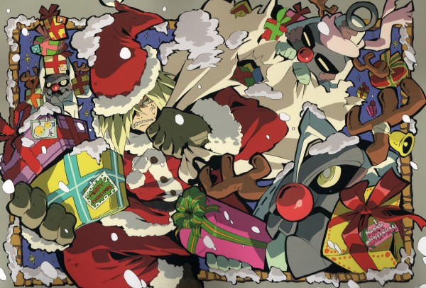Tags: Anime, Tengen Toppa Gurren-Lagann, Viral (Tengen Toppa Gurren-Lagann), Official Art