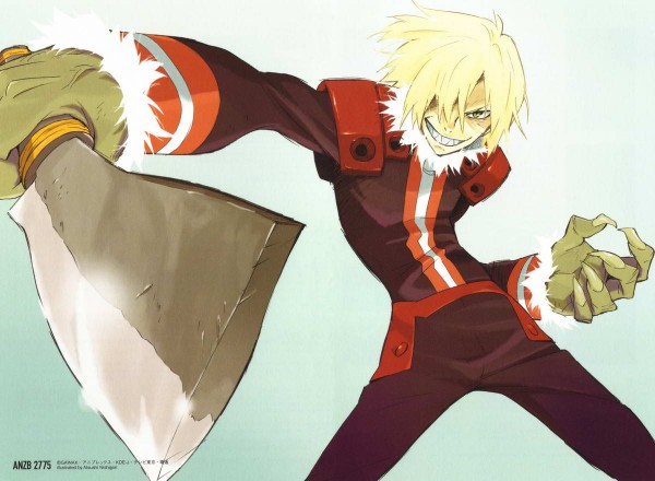Tags: Anime, Tengen Toppa Gurren-Lagann, Viral (Tengen Toppa Gurren-Lagann), Artist Request