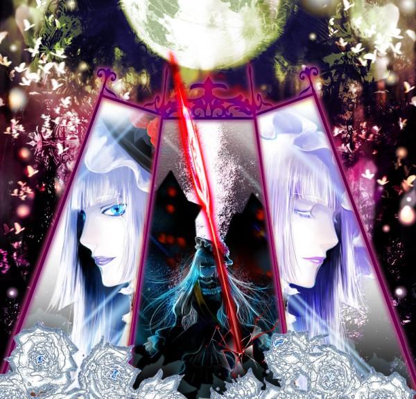 Tags: Anime, Mamiya T, 07th Expansion, Umineko no Naku Koro ni, Virgilia, Pixiv