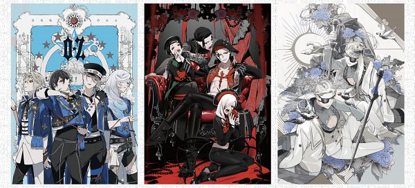 Tags: Anime, Visual Prison, Banner, Character Request, Collage, Facebook Cover, Official Art