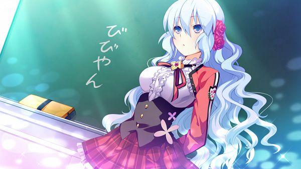 Tags: Anime, piriri!, Kimi to Boku to no Kishi no Hibi -Rakuen no Chevalier-, Vivian Le Alferia, Wallpaper, CG Art