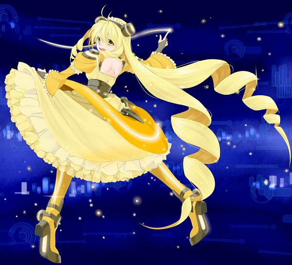 Tags: Anime, Hayagiri, Vividred Operation, Vivid Yellow